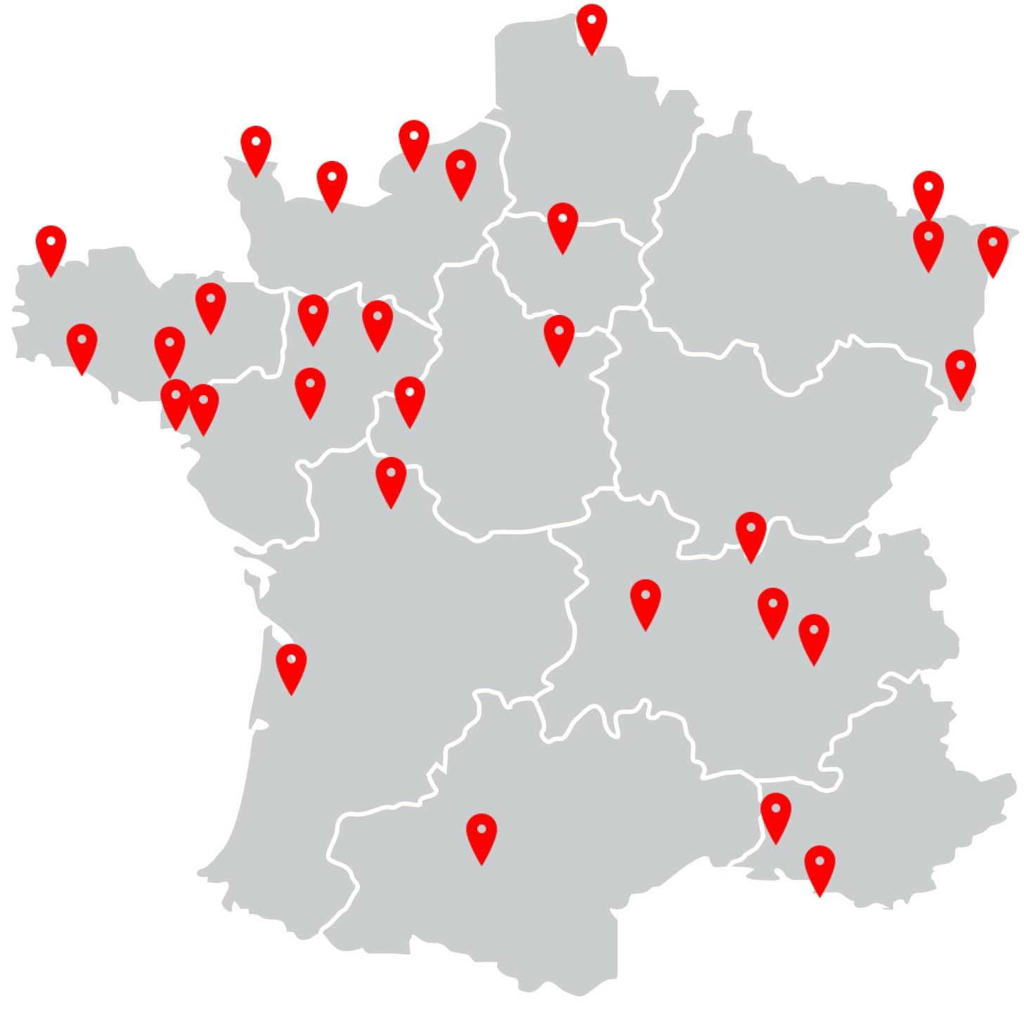 Nos agences partout en France