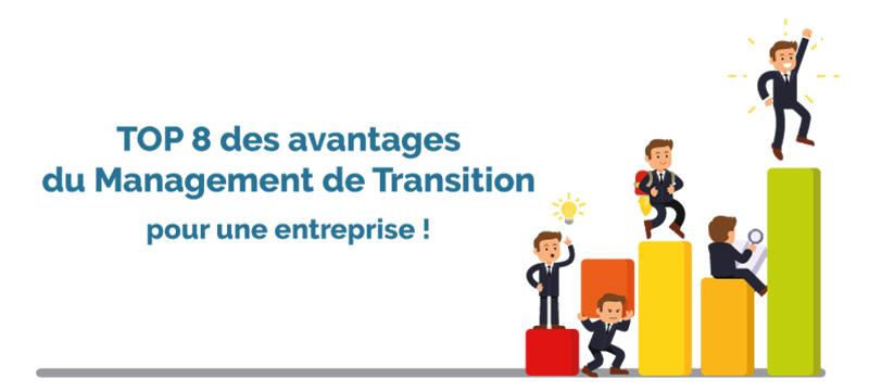 avantages management de transition